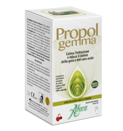 Aboca Propol gemma spray no alcool adulti e bambini 30ml