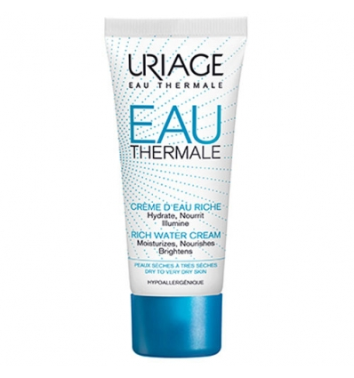 Uriage TQ Eau thermale crema ricca all acqua 40ml